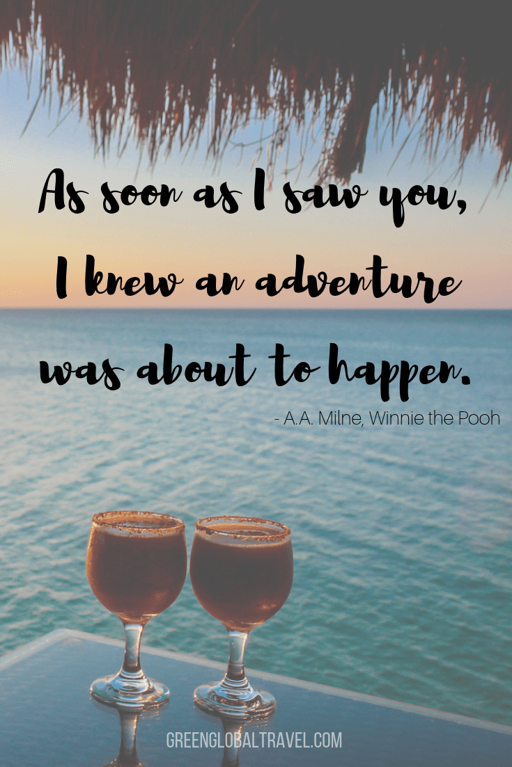 Couple Travel Quotes -As soon as I saw you...