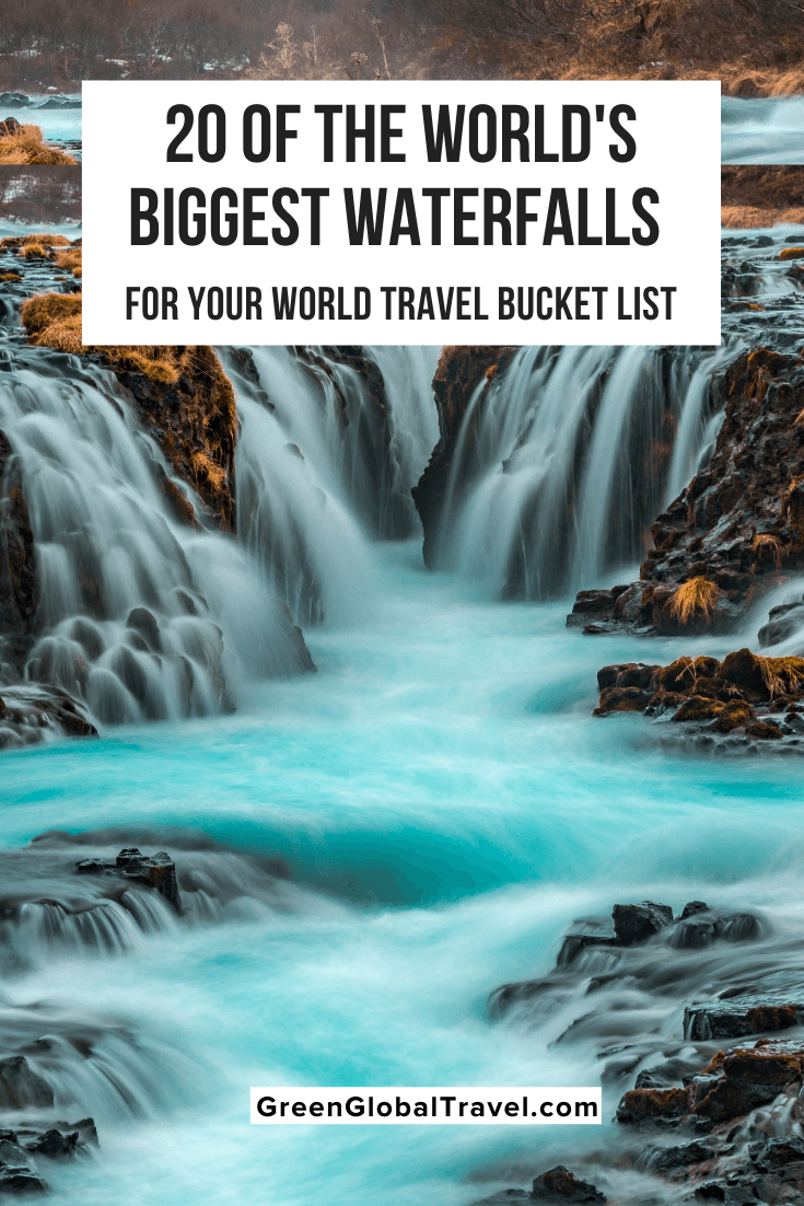 The 20 Biggest Waterfalls in the World (By Continent), including the highest waterfalls, largest waterfalls by volume, and biggest drops | Biggest Waterfalls in Africa | Biggest Waterfalls in Antarctica | Biggest Waterfalls in Asia | Biggest Waterfalls in Europe | Biggest Waterfalls in North America | Biggest Waterfalls in South America | largest waterfall in europe | tallest waterfall in north america | tallest waterfall in us | biggest waterfall in the world | largest waterfall in the world