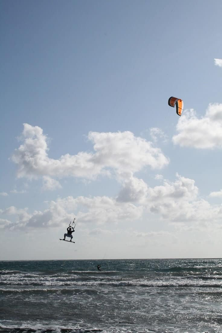 Kite Surfing in Southern Tenerife