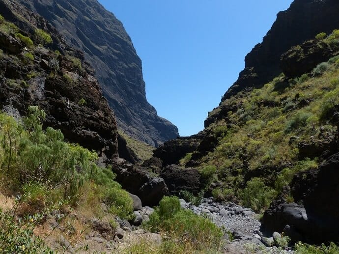 Masca Valley - Masca Trail hike, Tenerife Canary Islands