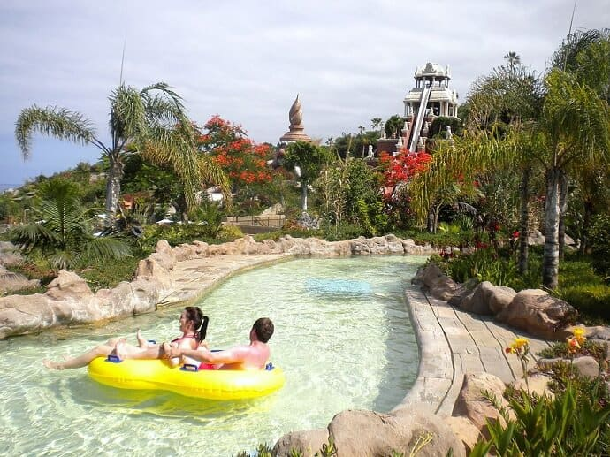 Siam Park in Southern Tenerife Canary Islands