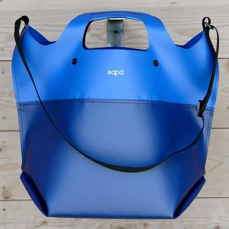 reusable grocery bag - LastBag blue shoulder bag