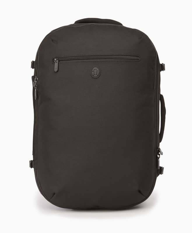 black tortuga backpack made from RePET polyester