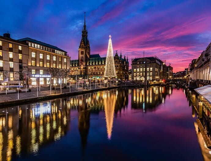 European Cruises - Christmas Market in Hamburg, Germany