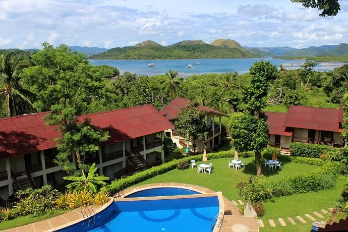 Grand View Hotel in Coron Palawan
