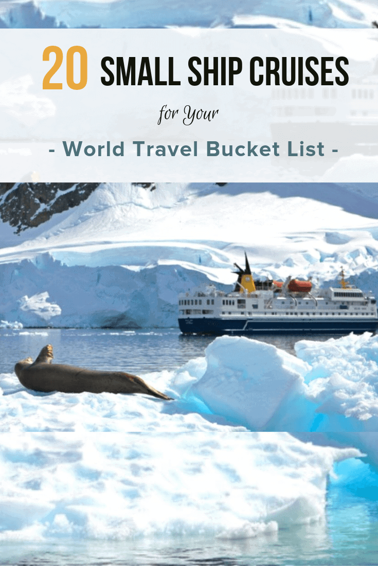 The 20 Best Small Ship Cruises for your World Travel Bucket List via @greenglobaltrvl #smallshipcruisesadventure #smallshipcruisesworld #smallshipcruisesdestinations #smallshipcruisestrips #smallshipcruisealaska #smallshipcruisesarticles #smallshipcruisesrivers #bucketlisttravel #bucketlisttraveldestinations #bucketlisttraveldestinationsaroundtheworld #bucketlisttravelideas #bucketlisttravelideasplacestovisit #bucketlisttravelideasbeforeidie #bucketlistforcouples #bucketlistforcouplestravel #bucketlistforcouplesromance #bucketlistuniqueadventure #bucketlistuniquetraveldestinations #cruisevacation #cruisevacationdestinations #cruisevacationideas #cruiseideas #cruiseideasadventure