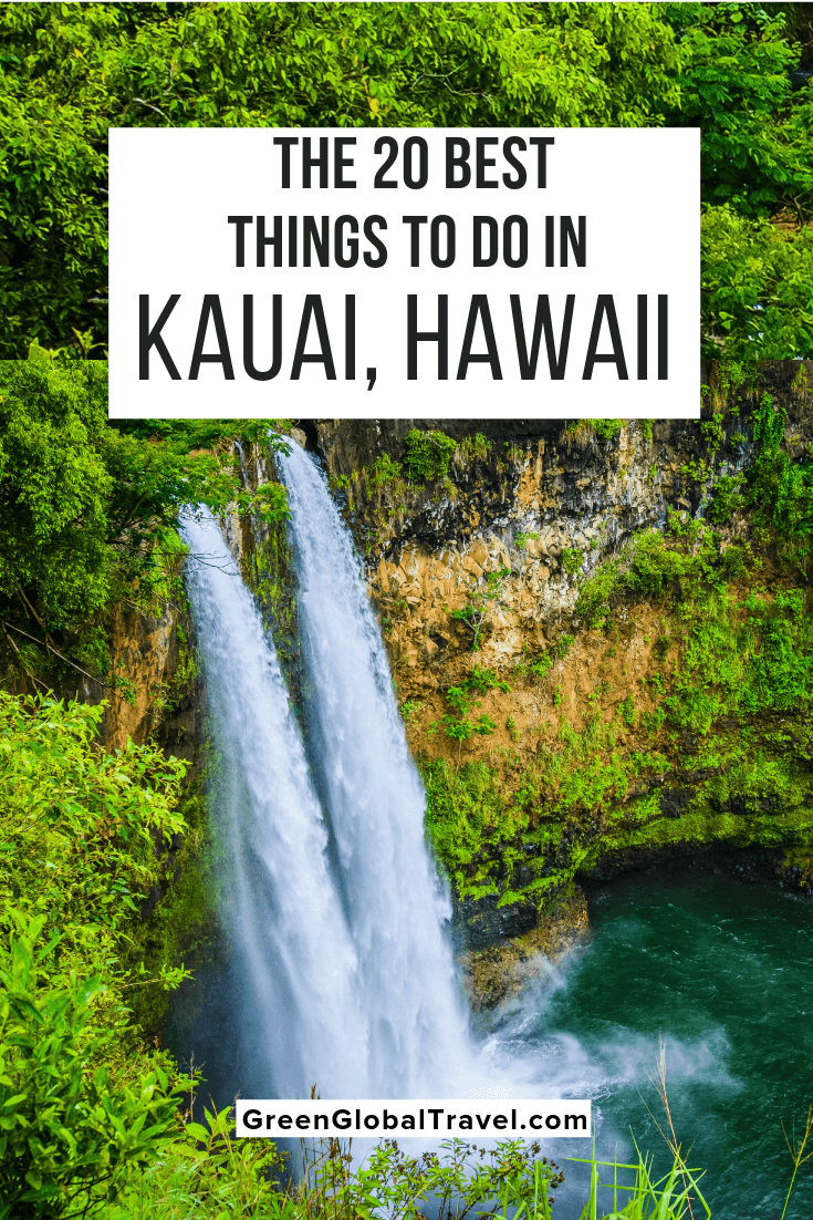The 20 Best Things to Do in Kauai, Hawaii (For Nature Lovers) w/ activities in North Shore Kauai, South Shore Kauai, East Shore Kauai, & West Kauai. kauai family activities | things to do in kauai with kids | kauai adventures | kauai with kids | kauai hikes | kauai excursions | kauai tours | kauai beaches | kauai points of interest |kauai things to do | what to do in kauai | top things to do in kauai | what to see in kauai | best things to do in kauai