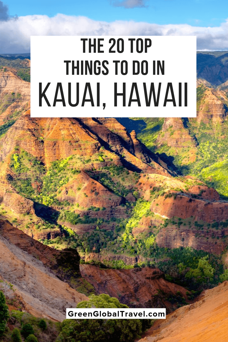 The 20 Best Things to Do in Kauai, Hawaii with what to see in North Shore Kauai, South Shore Kauai, East Shore Kauai, & West Kauai. kauai family activities | things to do in kauai with kids | kauai adventures | kauai with kids | kauai hikes | kauai excursions | kauai tours | kauai beaches | kauai points of interest |kauai things to do | what to do in kauai | top things to do in kauai | what to see in kauai | best things to do in kauai | fun things to do in kauai | kauai must do | things to do in kauai | kauai attractions | top 10 things to do in kauai
