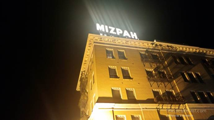 Haunted Nevada Hotels -Mizpah Hotel