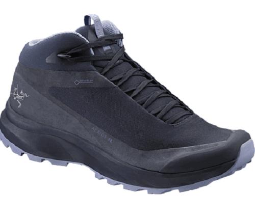 Womens Vegan Hiking Boots - Arcteryx Aerios Fl Mid GTX
