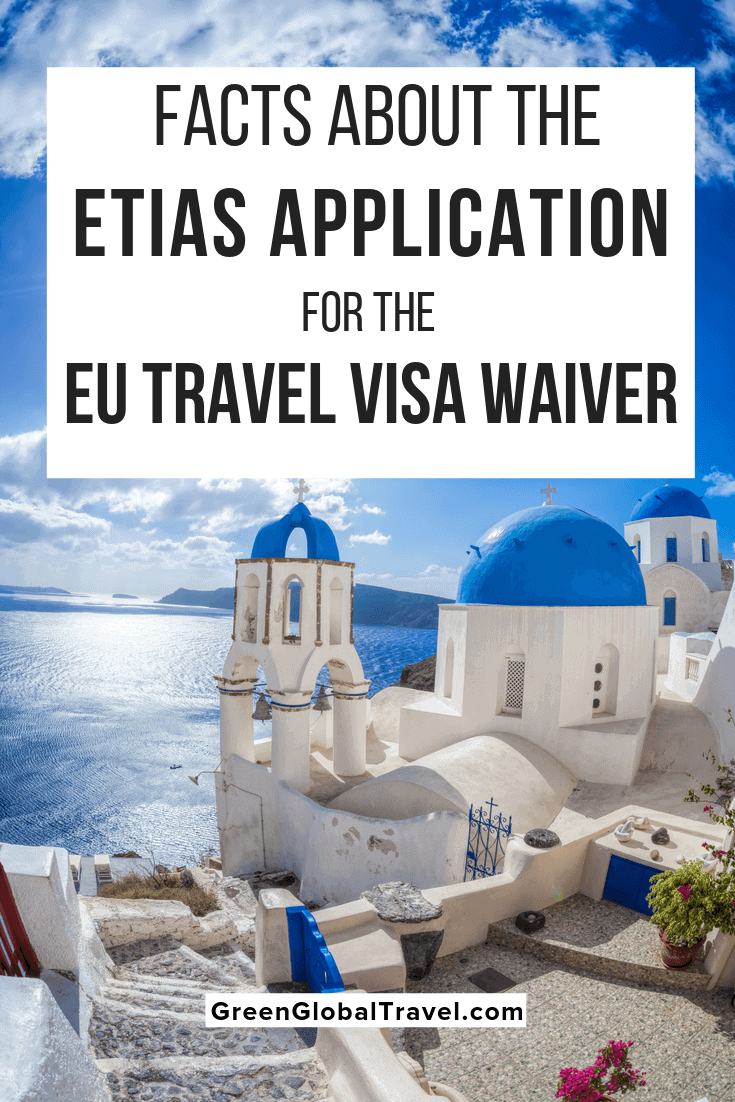 Facts About the ETIAS Application for the EU Travel Visa Waiver. What you need to know about the ETIAS visa waiver, the application requirements and process as well as what areas the ETIAS covers. ETIAS visa | ETIAS Europe | ETIAS requirements | ETIAS visa requirement | what is ETIAS | Schengen tourist visa | travel Europe | Schengen countries | EU travel | Europe tourist visa