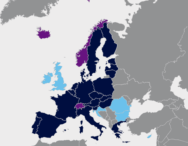 ETIAS for Americans - Schengen Countries