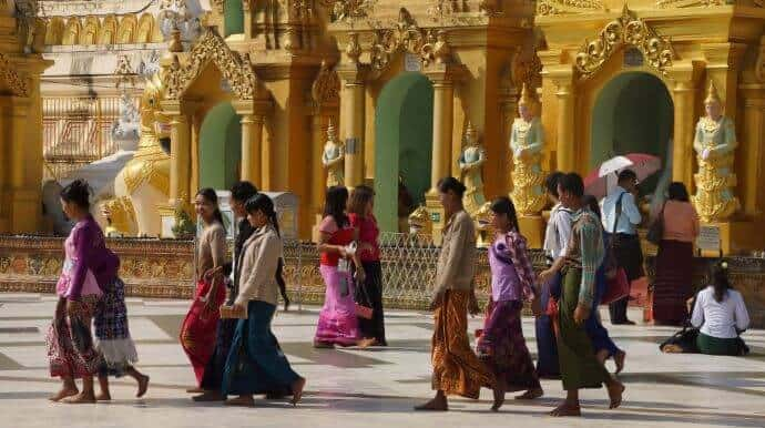 Burmans in Myanmar