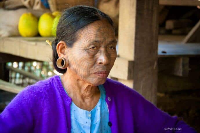 Chin people of Myanmar