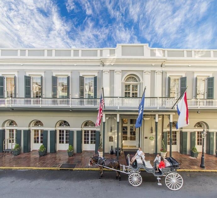 Most Haunted New Orleans Hotels - Boubon Orleans