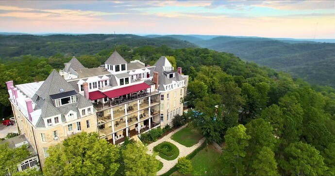 Most Haunted Places in Arkansas - Crescent Hotel