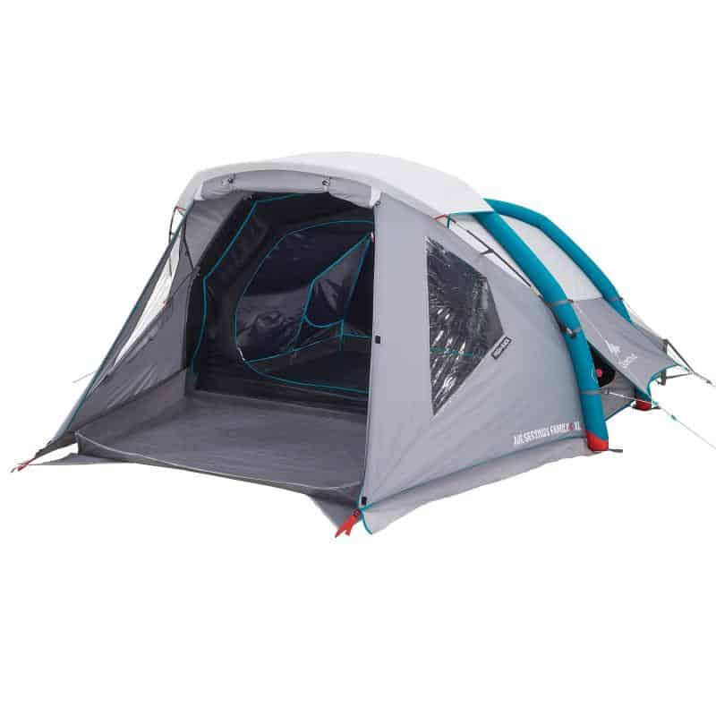 Decathlon inflatable 4 person family tent