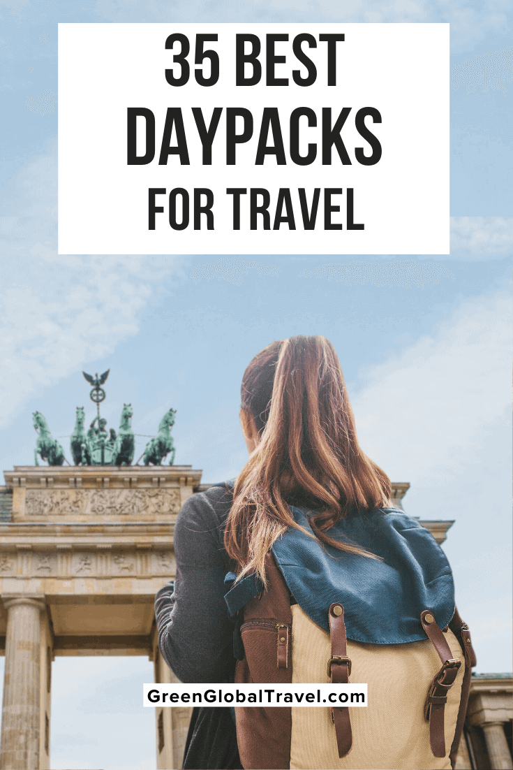 The 35 Best Daypacks for Travel w/ the best day hiking backpack, best waterproof daypack, best lightweight daypack, best urban daypack, best daypacks for women, best tactical day pack & more! | day hiking backpack | small hiking backpack | day backpacks | best hiking daypack | womens hiking backpack | Travel Daypack | Daypack Backpack | packable daypack | best day backpack | women's daypacks | Daypacks for Women | small day pack | ultralight daypack | lightweight daypack