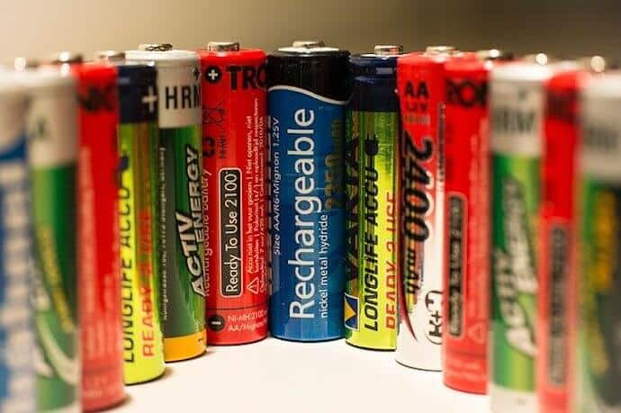 Eco Friendly Products - Rechargeable Battery