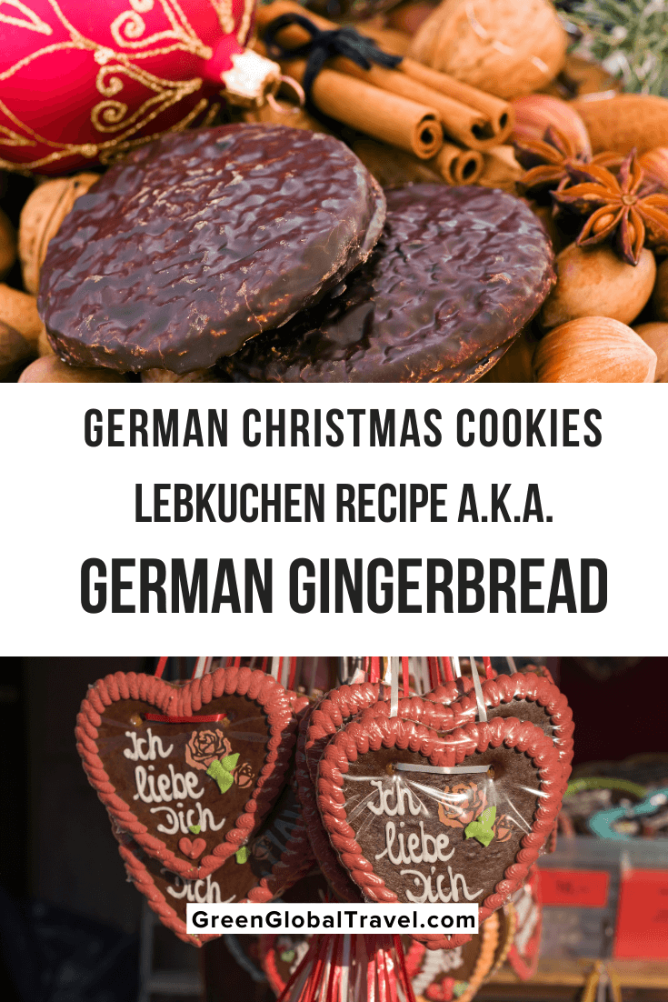 German Christmas Cookies (Lebkuchen Recipe aka German Gingerbread) | nürnberger lebkuchen | lebkuchenherzen | elisen lebkuchen german cookie recipes | german christmas food | german gingerbread | lebkuchen cookies | german gingerbread cookies | german christmas biscuits | german spice cookies | lebkuchen hearts | lebkuchen biscuits | german ginger cookies | german lebkuchen | german cookies lebkuchen | traditional german christmas cookies | traditional lebkuchen recipe
