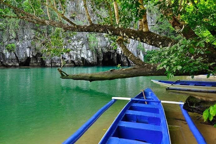 Puerto Princessa, Palawan Philippines underground river entrance
