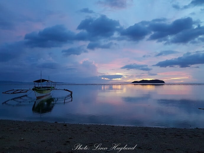 Sambawan island view from Agta Resort - Biliran