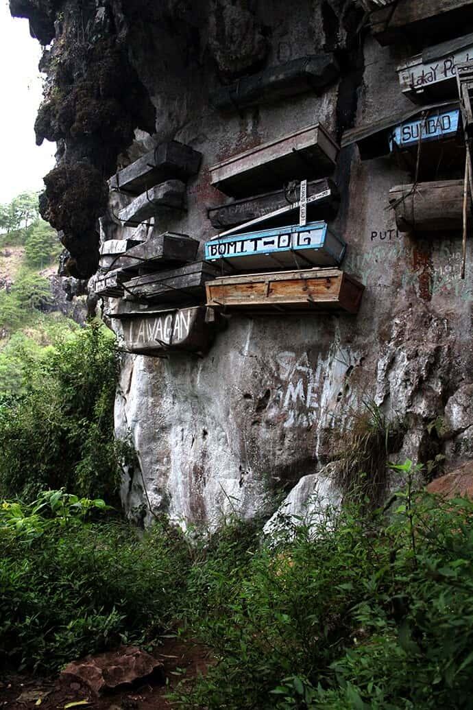 Sagada, Philippines-hanging coffins