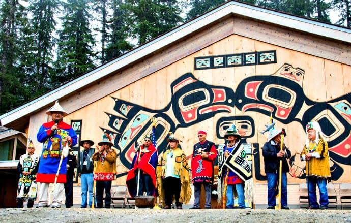 Huna Tribal House Dedication in Glacier Bay National Park