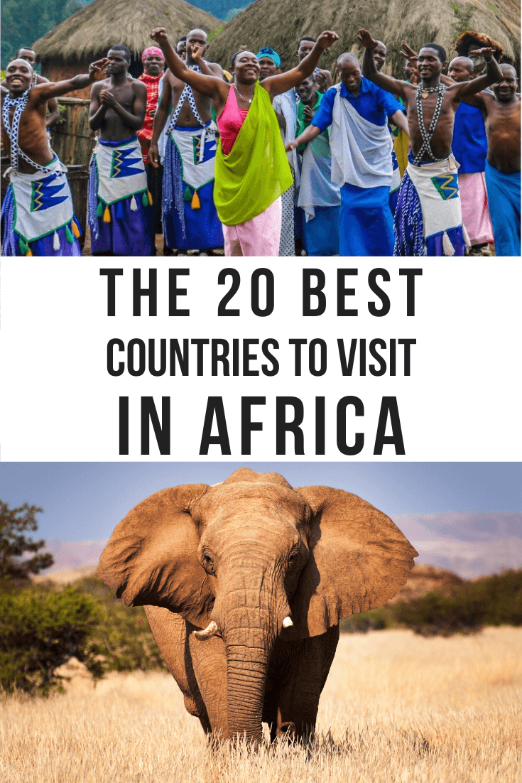 The 20 Best African Countries to Visit, including tips on staying safe while traveling and the top activities & attractions in each destination. | safest places in africa | safe african countries | safe countries in africa | safest african countries | safest cities in africa | safe places to visit in africa | safest countries in africa | safest african cities | is africa safe | safest places to travel solo | is south africa safe | safest places for solo female travelers