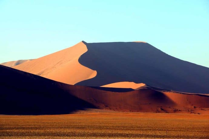 Dune 45 in Sossusvlei, Namibia