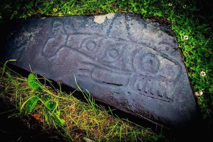 Ancient Tlingit Art at Petroglyph Beach in Wrangell, Alaska