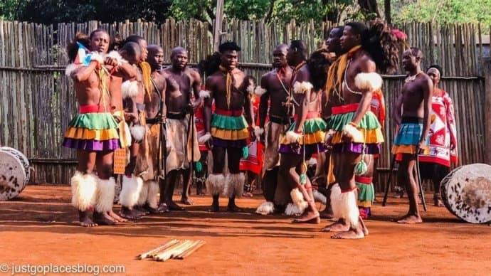 Dancers at the Mantenga Cultural Center in eSwatini