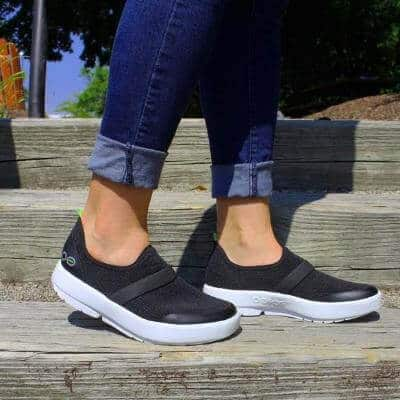 Black Comfortable Walking Shoe - OOmg Low Shoe