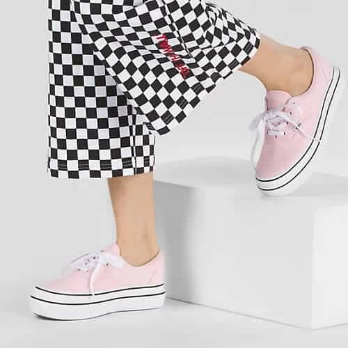 Vans Super Comfycush Shoes in Blushing Bride