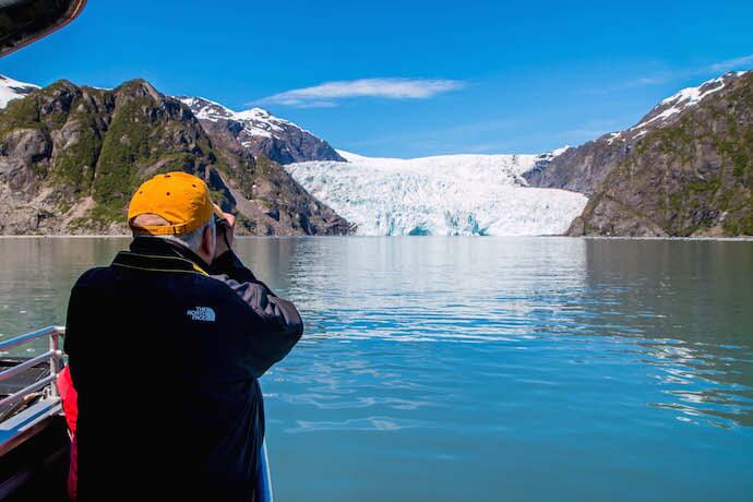 Visiting Holgate Glacier on an Alaska Glacier Cruise