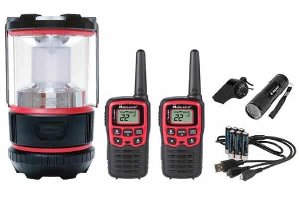 Midlandusa EX500VP Eready Lantern and Two-way radio