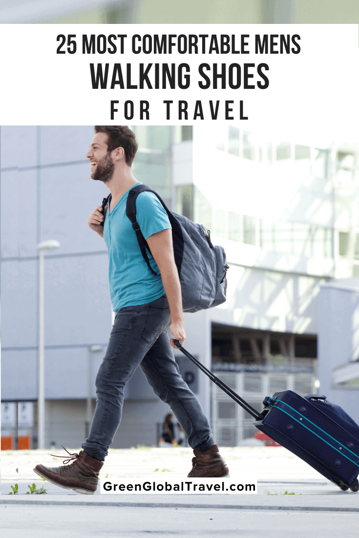 Comfortable Mens Walking Shoes for Travel