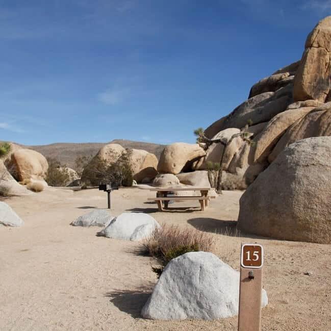 Belle Campground via NPS