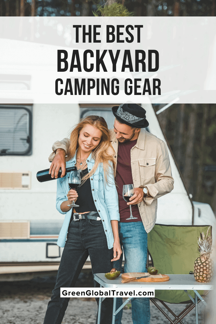 The Best Backyard Camping Gear for 2020 - Having a backyard campout isn't just for kids. Here's a look at some great backyard camping gear, from backyard tents and bedding to grills, camp cooking tools, and more! | backyard tent ideas | backyard camping tent | backyard camping ideas | backyard camping for adults | backyard campground | camping in your backyard | backyard camping | backyard campout | backyard campout ideas | camping in my backyard | tent in backyard