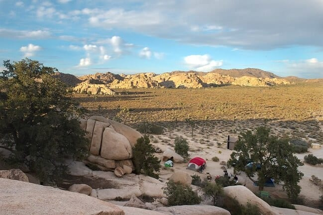 Hidden Valley Campground via NPS