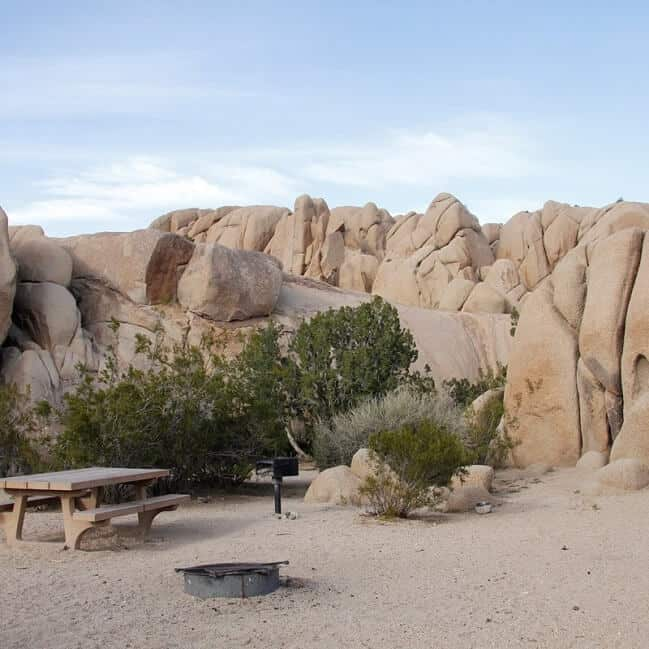 Jumbo Rocks Campground via NPS