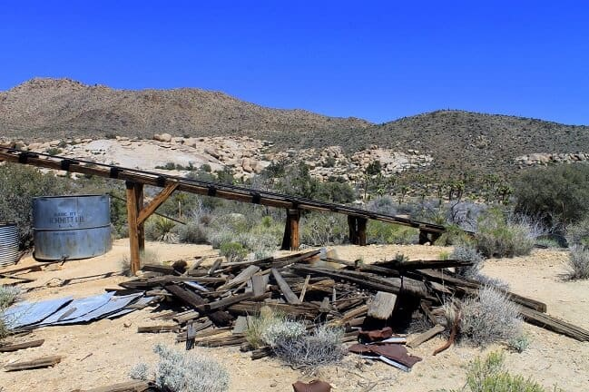 Mining History in Joshua Tree