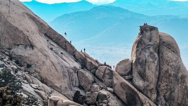 Ryan Mountain Hike
