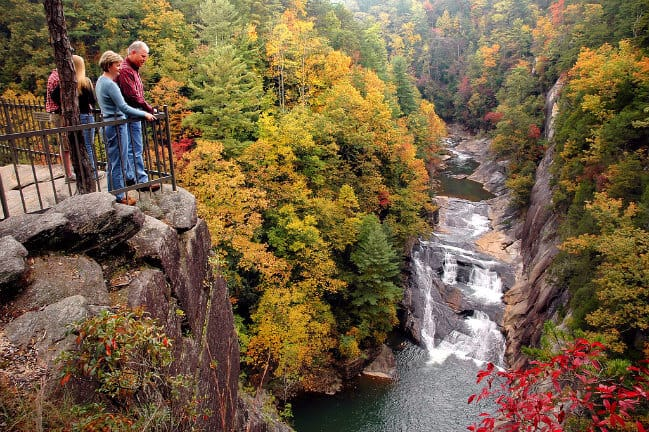 Overlook at Tallulah Gorge State Park