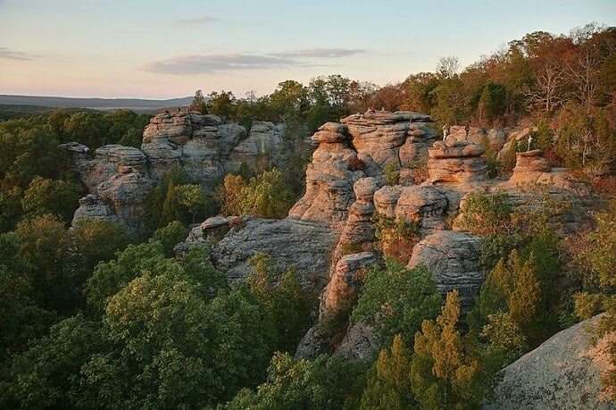Shawnee National Forest -Garden of the Gods Sunset