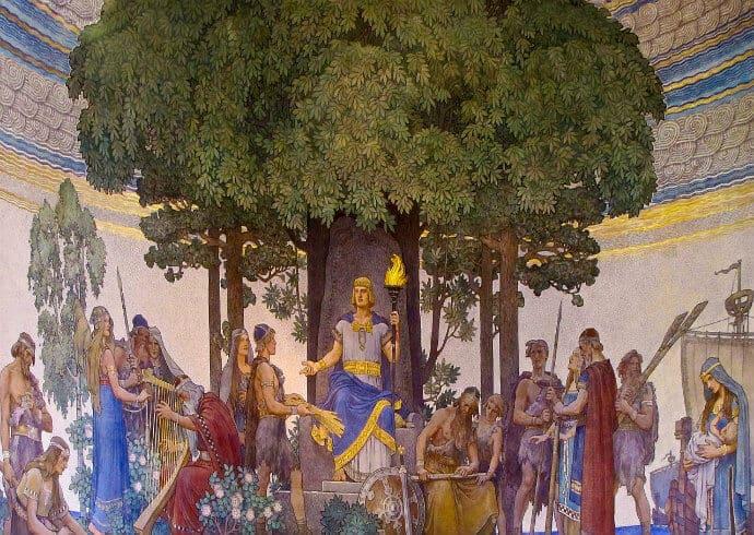 Norse God Heimdall