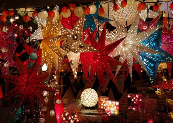 poinsettia mexican christmas decor