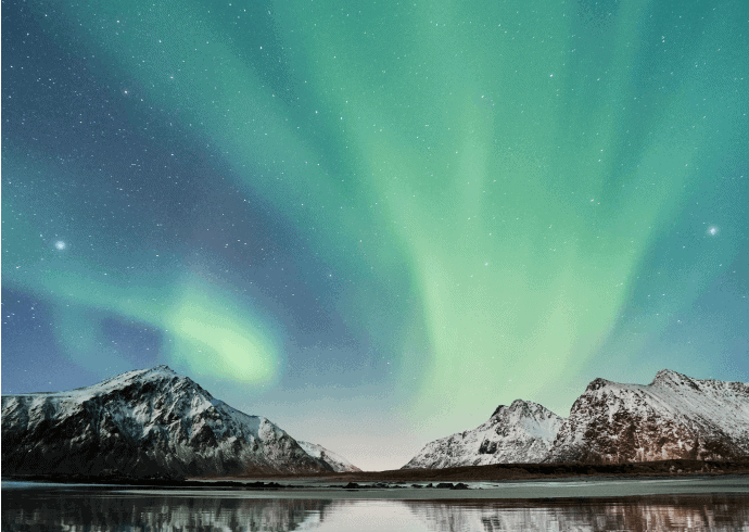 Northern Lights - Lofoten Islands- Valkyrie
