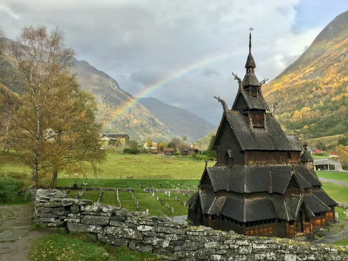 Norse religion church
