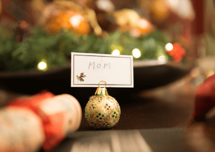 DIY Christmas Placeholder